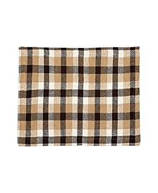 C F Home Dunmore Plaid Cocoa Placemat, Set of 6