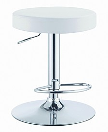 Chandler Round Adjustable Height Bar Stool