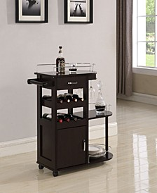 Norwalk 3-Tier Serving Cart
