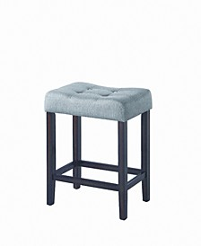 Ojai Upholstered Backless Counter Stools, Set of 2