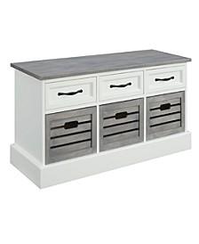 Durango 6-Drawer Storage Bench
