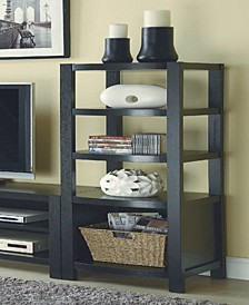 Ocala 4-Tier Curved Front Media Tower