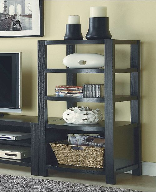 Coaster Home Furnishings Ocala 4-Tier Curved Front Media Tower