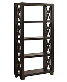 Bainbridge 4-Shelf Bookcase