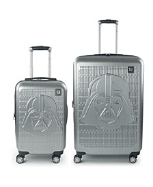 Darth Vader Embossed 2-Pc. Hardside Luggage Set