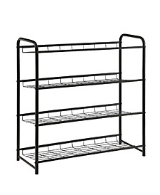 Mcpherson 4-Shelf Shoe Rack