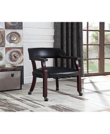 Caribou Office Chair with Nailhead Trim