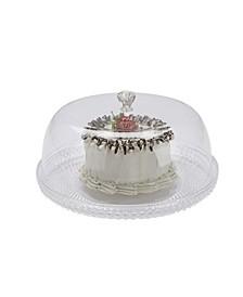 Diamond Acrylic Cake Holder with Cover, Cake Display, Dessert Display
