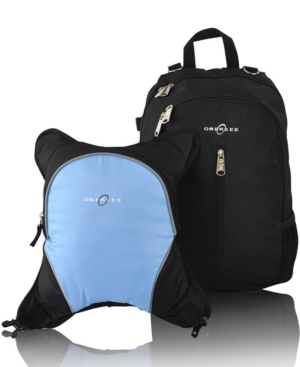 Obersee Rio Diaper Backpack In Blue