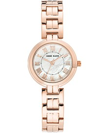 Women's Rose Gold-Tone Bracelet Watch 28mm