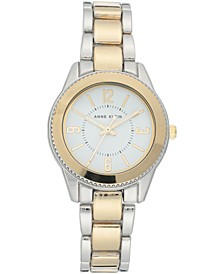 Women's Two-Tone Bracelet Watch 33.5mm