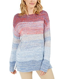 Ombré Marled Sweater, Created For Macy's