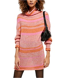 Candy Stripe Tunic Sweater