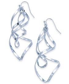 Twist Drop Earrings, Created For Macy's