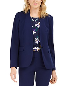 Collarless Blazer