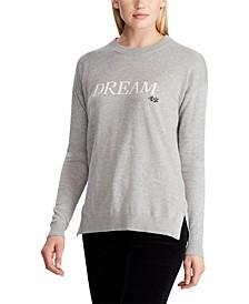 Love Cotton-Blend Sweater