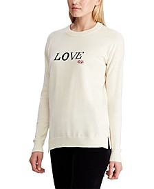 Love Cotton-Blend Sweater