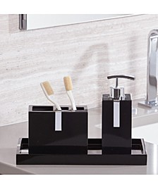 Houston Street 3-Pc. Bathroom Accessory Set