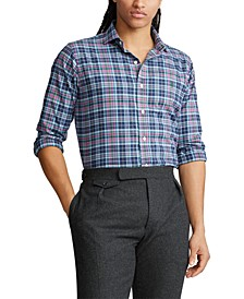 Men's Big & Tall Classic Fit Performance Flannel Shirt