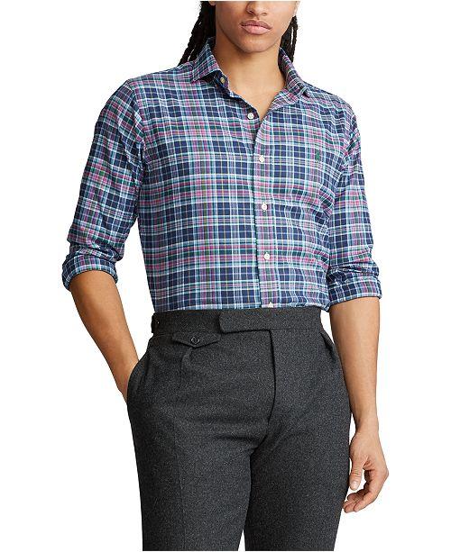 Polo Ralph Lauren Men's Big & Tall Classic Fit Performance Flannel Shirt