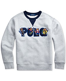 Big Boys Ski Bear Fleece Sweatshirt