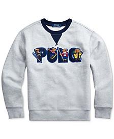 Polo Ralph Boys Ski Bear Fleece Sweatshirt