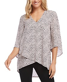 High-Low Crossover Top