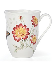 Butterfly Meadow Red Monarch Mug, Created for Macy's