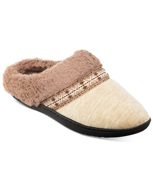 Isotoner Signature Women's Boxed Micah Slippers