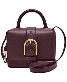 Wiley Top Handle Leather Satchel