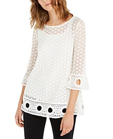 Crochet Lace Top, Created For Macy's