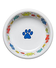 Scatter Print Dog Paws Medium Bowl