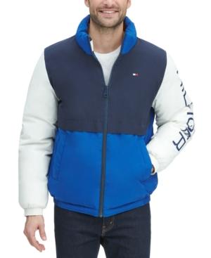 Tommy Hilfiger Men's Nylon Taslan Retro Puffer Jacket