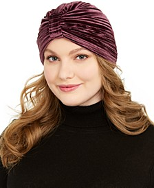 Pleated Velvet Turban
