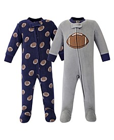 Boy  Fleece Sleep and Play 2 Pack