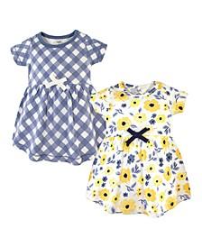 Toddler Girl Organic Dress 2 Pack