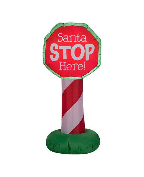 National Tree Company 3.5 ft. Inflatable Holiday Sign