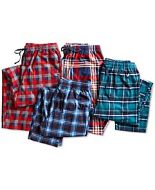 Men's Plaid Cozy Fleece Pants