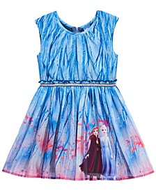 Disney® Little Girls Frozen Landscape Dress