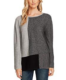 Colorblocked Tunic Sweater
