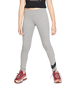 Big Girls Sportswear Swoosh-Print Leggings