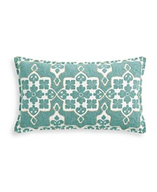 "14"" x 24"" Moroccan Tile Decorative Pillow"