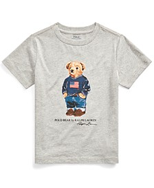 Toddler Boys Sweater Bear Cotton Jersey T-Shirt, Created For Macy's