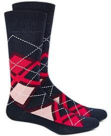 Men's Argyle Socks, Created For Macy's