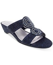 Carri Slide Flat Sandals, Created For Macy's