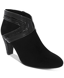 Wendaa Dress Booties, Created for Macy's