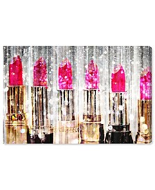 "Lipstick Collection Canvas Art - 30"" x 45"" x 1.5"""