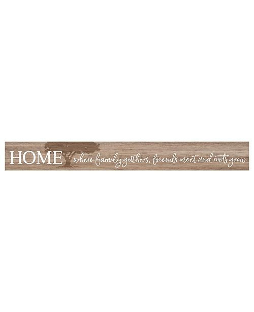 P Graham Dunn Home Where Family Gathers Friends Meet And Roots Grow Wall Art