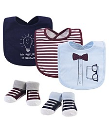 5-Piece Bib and Sock Set