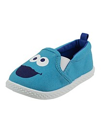 Cookie Monster Toddler Boy and Girl Slip-on Shoe